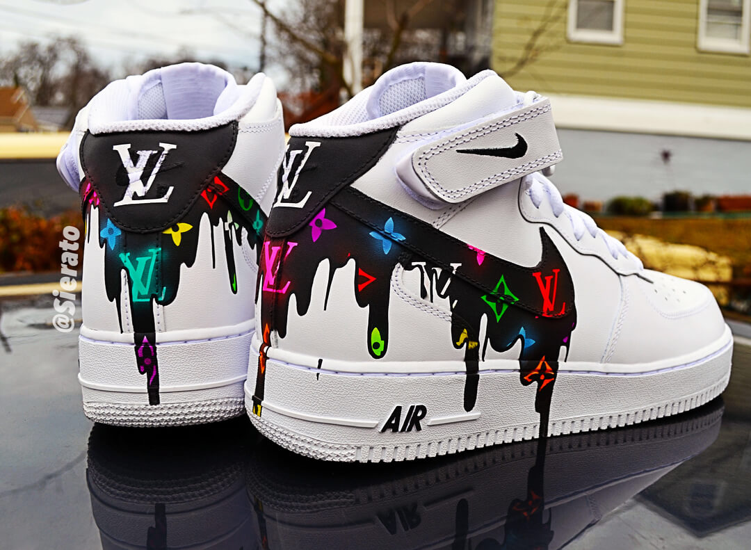 7a0f9d0ba231 Top 10 Nike Air Force 1 Custom Kicks - WassupKicks
