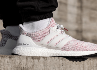 48f21a8da3102 Check Out The Latest Adidas Ultra Boost 4.0 Candy Cane Makeover