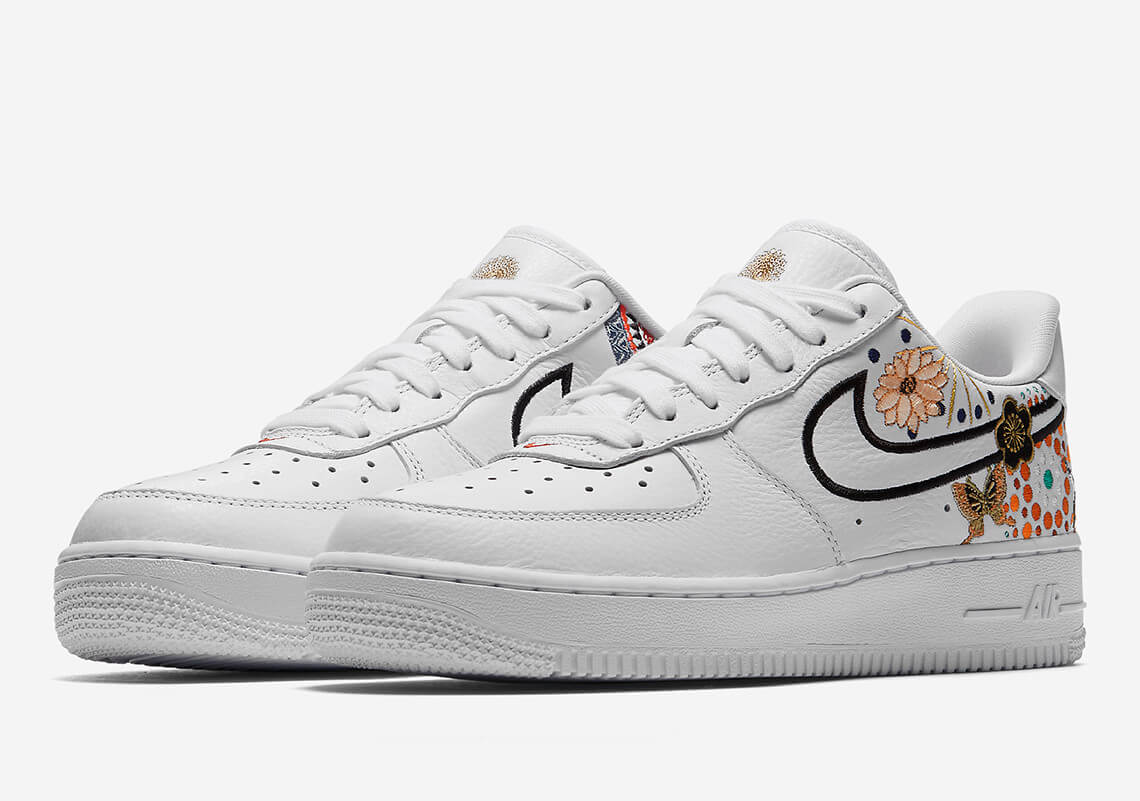 the nike air force 1 low lunar new year official images. Black Bedroom Furniture Sets. Home Design Ideas