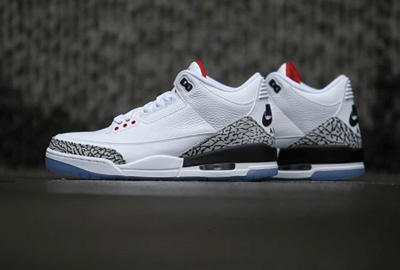 123fc19dab6 The Air Jordan 3 White Cement NRG Dropping Soon - WassupKicks
