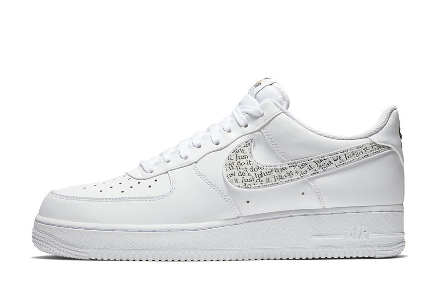 """huge discount 15464 e9cbf ... Air Force 1 Low """" Just Do It"""" pack soon at select retailers and Nike  stores Online. Check out more detailed images below and enjoy picking up a  pair for ..."""