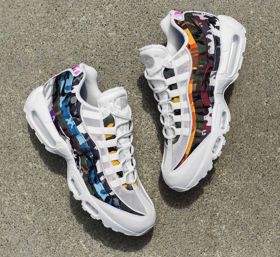 c36da19de4 You may see this Nike Air Max 95 ERDL Party Pack on August 4th at select  overseas Nike Sportswear retailers.