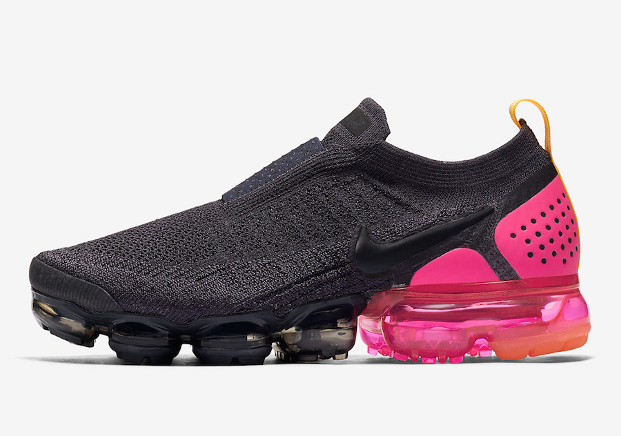 "best website a3722 c0445 online store 376ab 75642 Nike Air VaporMax 2.0 Black Multicolor Release  Date  new concept 40c6a a6bb5 ... Air VaporMax Moc 2 "" Pink Blast"" on"