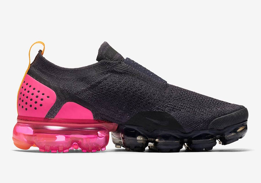 "low priced e6ece e2120 ... Nike Air VaporMax Flyknit 2 Pink Blast 942842-008 Release Date  new  concept 40c6a a6bb5 ... Air VaporMax Moc 2 "" Pink Blast"" on"