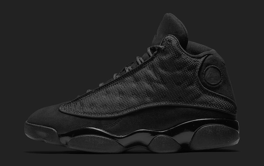 """... of Air Jordan 13 Black Cat 2017 below and expect the upcoming Air Jordan  13 """"Cap And Gown"""" to be released on May 18th for a retailing price of  200. d5112724fa6"""