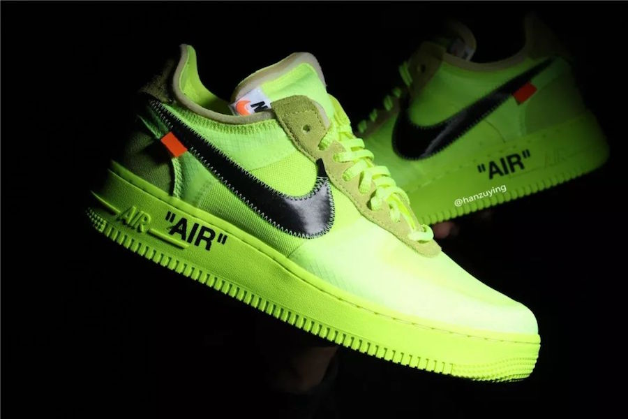Check Out This Coming Off White X Nike Air Force 1 Low In Volt b03a7d7b0
