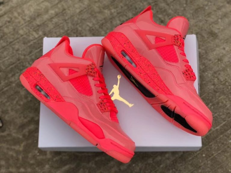 """super popular 4556b 4039f Updates  This is the first close look at these women s """" Hot Punch"""" Air  Jordan 4 NRG, that will be released in January."""