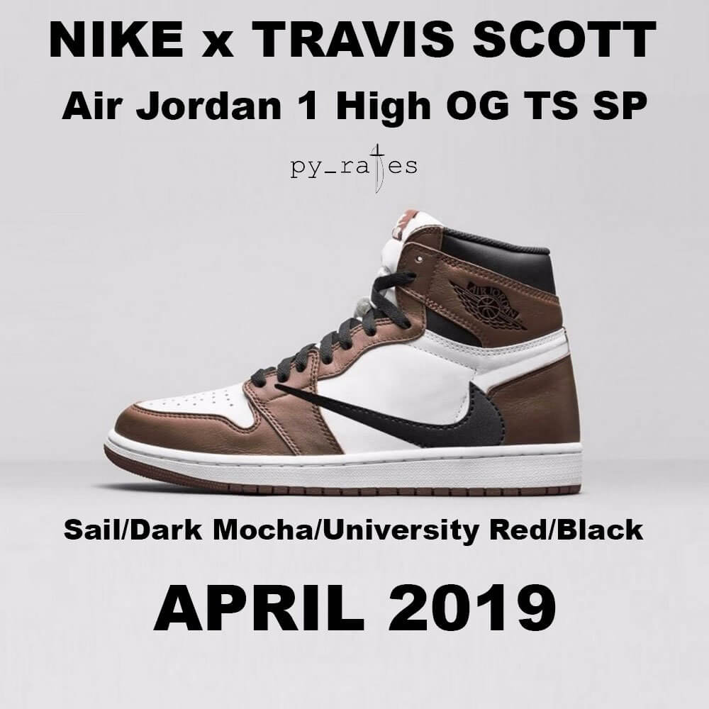 uk availability c978b d0c6c Check out more detailed images below and expect Travis Scott x Air Jordan 1  to release in April 2019 at select retailers.