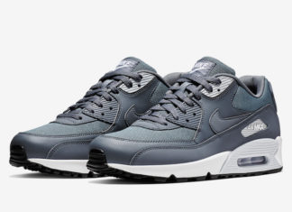 """pretty nice 82271 a3e42 The Nike Air Max 90 Essential """" Armory Blue"""" Is Available"""