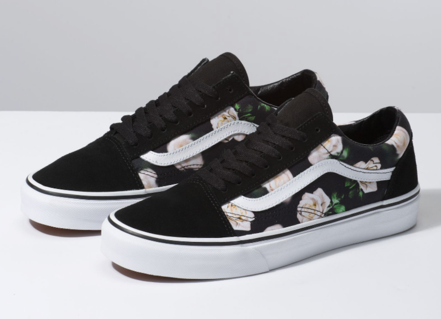 89d8fafa9d This Vans Romantic Floral pack is available now on vans.com. Peep a look  below and feel the elegance by grabbing this pack.