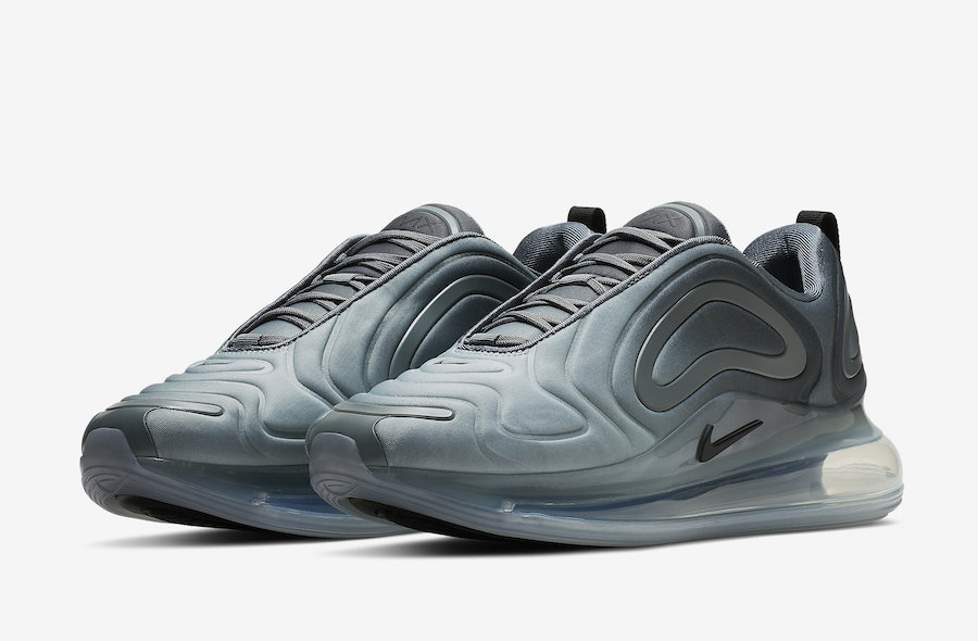 """29bc3b63ddbb Wait for this Nike Air Max 720 """" Carbon Grey"""" to drop sometime in this year  2019 on Nike.com. Take a detailed look below"""