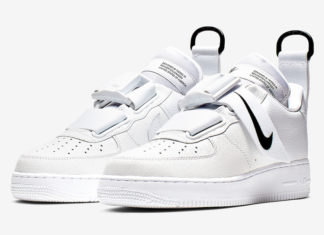 buy online c8215 2b516 Nike Air Force 1 Utility Dropping In White Black
