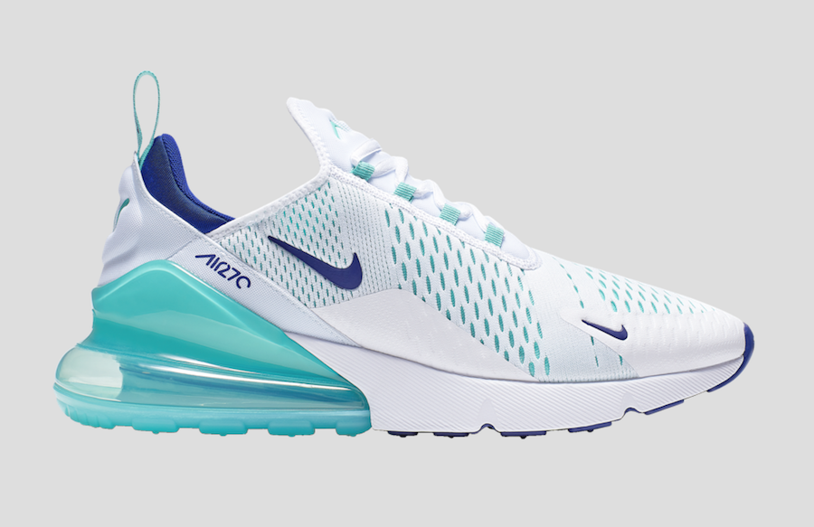 """7e212caf067dc9 This Nike Air Max 27 """" Hyper Jade"""" is scheduled to release on February 28th  at select retailers like Foot Locker. Check out more detailed images below  and ..."""