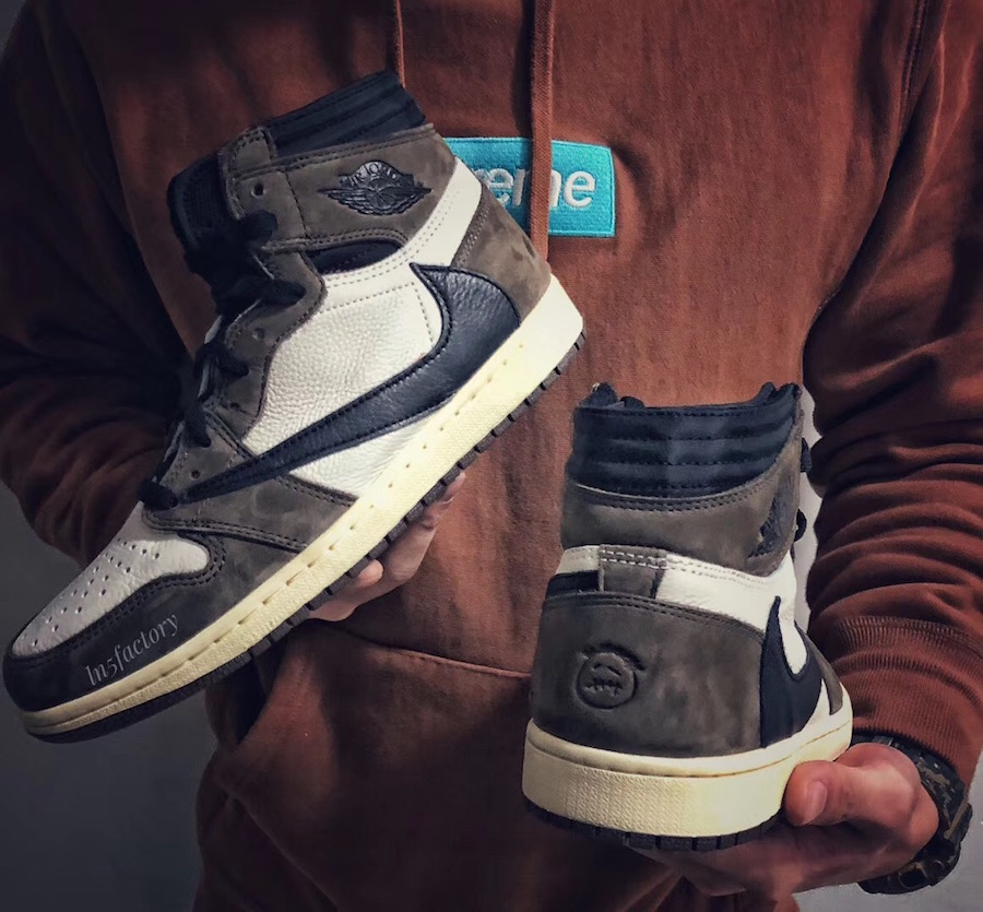 "ffb9fdfca12 This Travis Scott X Air Jordan 1 Retro High OG "" Cactus Jack"" is scheduled  to drop on April 26th at select Jordan Brand retailers."