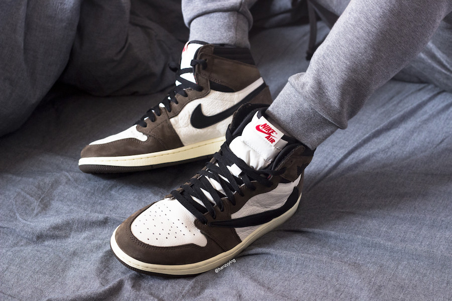 """competitive price 86844 01a75 This Travis Scott X Air Jordan 1 Retro High OG """" Cactus Jack"""" is scheduled  to drop on April 26th at select Jordan Brand retailers."""