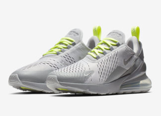 half off 57d90 80a19 Nike Is Dropping Air Max 270 In Grey Volt
