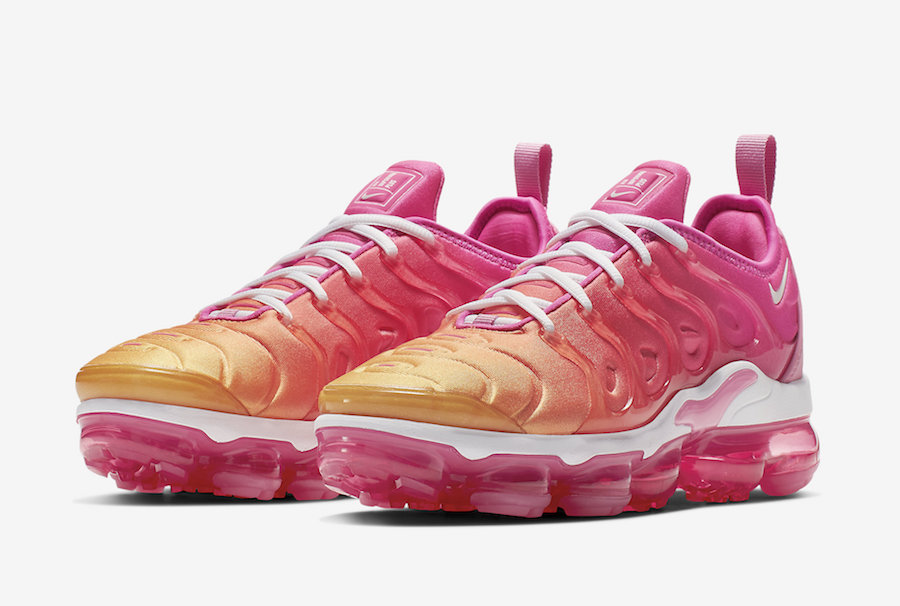 047e3122c03 Nike Air VaporMax Plus Is here In Psychic Pink And Gold - WassupKicks