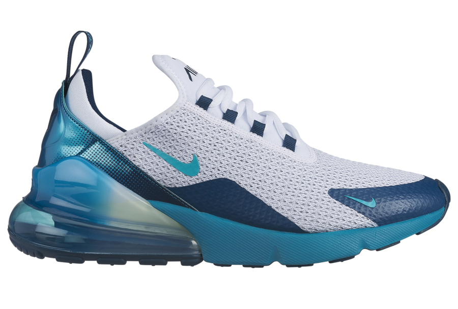 "buy online 8f982 df1f7 This Nike Air Max 270 "" Spirit Teal"" is set to drop on June 15th at select  authorized retailers and on Nike Store Online. Pick up a pair for yourself,  ..."