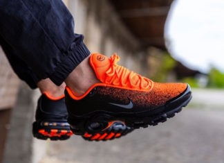 cce5f4ae12 A New Spray Painted Nike Air Max Plus Coming In Black And Hyper Crimson